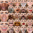 Hot Funny Face Mask 3d Printed Breathable Washable Mouth Protection Reusable Lot