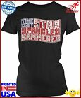 Amdesco Juniors Time To Get Star Spangled Hammered Usa Tshirt