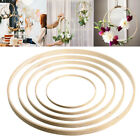10PCS DIY Dream Catcher Ring Round Wooden Bamboo Hoop Crafts Tools 8 - 40.5cm