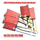 7S 24V 16A-60A Li-ion Lithium Battery Cells BMS PCB Protection Board for i