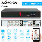 KKMOON 4/8/16CH H.265+ 1080P DVR CCTV 5in1 Video Recorder for Security System