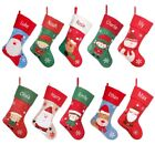 'Luxury Personalised Christmas Stocking Embroidered Santa Boot Snowman