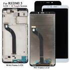 For Xiaomi Redmi 5 LCD Display 5.7' Touch Screen Digitizer Frame LCD Assembly