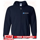 USPS POSTAL HOODIE ZIP UP Sweatshirt United States Post Office Service US zipup