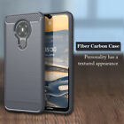 For Nokia 5.3/2.3/7.2/6.2/4.2/3.2/3.1A/8.1 Carbon Fiber Silicone Soft Case Cover