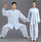 Cotton linen Tai Chi Clothing Female Martial Arts Practice Costume Male Chinese