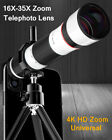 4K HD 16-35X Zoom Telephoto Telescope Phone Camera lens For iPhone 11 Pro 8 SE 2
