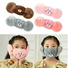 Children Winter 2 In 1 Mask Earmuff Windproof Warm Face Ear Protection Cover