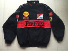 2018 FERRARI Black Embroidery EXCLUSIVE JACKET suit F1 team racing