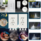 5/10Pcs Night Duplex Outlet Cover Wall Plate with Led Night Lights Light Sensor