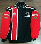 2018 Honda Red Black Embroidery EXCLUSIVE JACKET suit nascar car F1 team racing