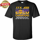 Los Angeles Lakers 2020 17 Time NBA Finals Champions T-Shirt For Sale