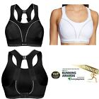 Shock Absorber Ultimate RUN Sports Bra White or Black S5044 Sizes 32-38 B-G