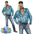 Adult Mens Not Your Average Joe Exotic Costume Tiger Fancy Dress Outfit