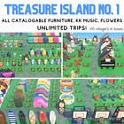 Furniture/DIY Treasure Island Catalog/Loot UNLIMITED TRIPS! New Horizons