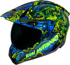 ICON Variant Pro Willy Pete Full Face Helmet BLUE Multi color