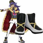 Pokemon Sword and Shield Champion Trainer Leon Dande Game Cosplay Shoes Boots