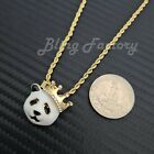 Hip Hop Iced Mini Hot selling 5 pendants Rapper's Collection Necklace Combo Set