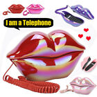 Cute Corded Telephone Landline Home Office Phone Novelty Funny Toy Gift Decor