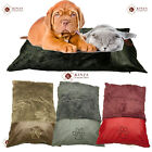Luxury Comfy Fur Leather Warm Soft Pet Cats Dogs Bed Zip Cover Washable Cushion