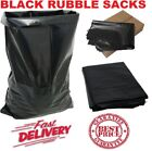 HEAVY DUTY BLACK RUBBLE BUILDERS REFUSE TOUGH WASTE SACKS BAGS LINERS