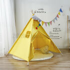 Canvas Children Indian Tent Teepee Kid Wigwam Indoor Outdoor Play House Gift