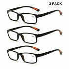3 Pack Reading Glasses Black Brown Readers Eyeglasses 1.0 2.0 3.0 1.5 2.5 3.5