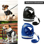 Leash + Pet Small Dog Puppy Harness Set Breathable Mesh Vest Chest Strap S M XL