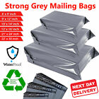 Grey Mailing Bags Strong Self Seal Mail Bag Postal Bags Poly Parcel Plastic Post