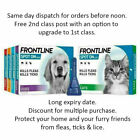 Frontline Spot On Flea Treatment Cat & S, M, L, XL Dog. Long expiry. (AVM-GSL)