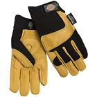 Dickies Men Premium GoatSkin Leather Drive/Work Winter Gloves, Thinsulate, L/XL