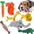 Pet Toys Dog Bite Resistant Hand-woven Cotton Rope Teeth Chew Toy Supplies Gift