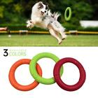Pet Flying Discs EVA Dog Training Ring Puller Resistant Bite Floating Toy New