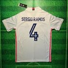 Sergio Ramos 2021 Real Madrid Home Jersey