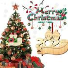 Christmas+Tree+Hanging+Ornaments+Wooden+Family+Ornament+Decor+With+Pens