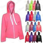 Women Plain Hoodie Sweatshirt Fleece Hooded Ladies Jackets Hoodies Pullover Top