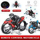 RC Drone Land-air Dual Mode Quadcopter Motorcycle Aircraft Quadcopte Kid Toy US