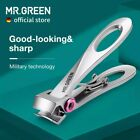 MR.GREEN Nail Clippers Stainless Steel Wide Jaw Opening Manicure Fingernail Cutt