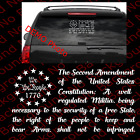 2nd Amendment 1776 We the People US Flag Vinyl Die Cut Decal 2A Gun Rights US027