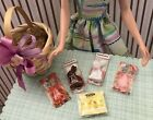 Miniature Food Easter Candy or Basket for 1:6 Scale Barbie Doll or Blythe Doll