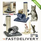 Cat Kitten Tree Scratching Post Climbing Activity Centre Sisal Bed Toy for UK