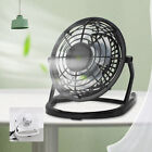 Mini USB Desk Fan Small Quiet Personal Cooler USB  Portable Table Fan UK