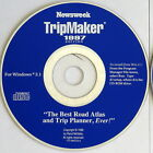 Vintage Newsweek Rand McNally TripMaker 1997 for Windows 3.1 and 95