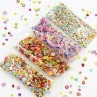1000 Pcs/Pack Clay Resin Fillings Craft Fruit Leaf Flowers Pattern Mixed Filler