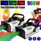 900W 220V RGB 3in1 Fog Smoke Machine LED Stage Light With Remote Controller