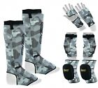 EVO Karate Mitts Elbow Knee Pads Shin Instep Guards Gym Protection Kit MMA UFC