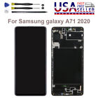 For Samsung galaxy A71 2020 A715 A715F LCD Screen Touch Digitizer Frame Lot