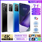 2021 7.1'' Note80 Pro Smartphone Android 10.1 8g+128gb 10 Core Dual Sim Unlocked