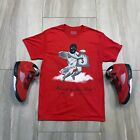 Tee to match Air Jordan Retro 5 Raging Bulls. Bags Tee