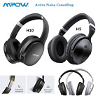 Mpow H5 H10 ANC Bluetooth Headphones Hi-Fi Deep Bass Over-Ear Stereo Headset Mic